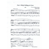 Can´t Help Falling in Love/Vigselspec/Peretti/Weiss/Creatore/Agrell
