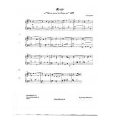 """Kyrie ur """"Messe pour les Convents"""" / F Couperin"""