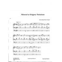 Nimrod ur Enigma Variations/E Elgar/Bearb:H Agrell