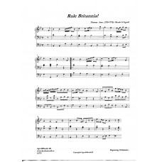 Rule Britannia/Thomas Arne/Bearb: H Agrell