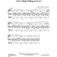 Can´t help falling in love / G Weiss,H Peretti, L Creatore