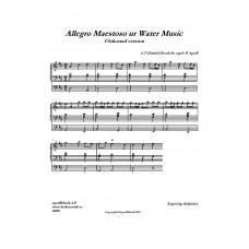 Allegro Maestoso /G. F Händel