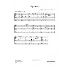Riguadon /G. F Händel
