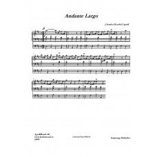 Andante Largo /J Stanley
