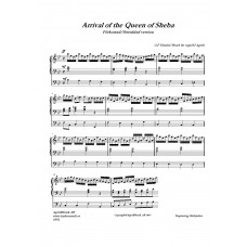 Arrival of the Queen of Sheba /G F Händel