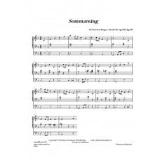 Sommarsång /W Peterson-Berger