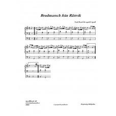 Brudmarsch från Rättvik /Trad/Arr: H Agrell