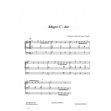 Allegro C-dur /J H Roman