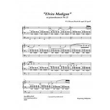 Elvira Madigan (ur pianokonsert Nr 21) /W A Mozart