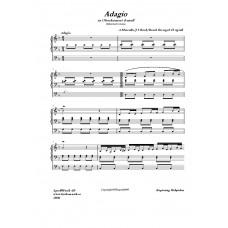 Adagio ur Oboekonsert /A Marcello/J S Bach