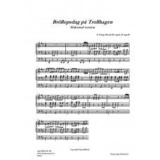 Bröllopsdag på Trollhagen /E Grieg