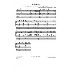 Rondeau /Jean-Joseph Mouret/Bearb för orgel:H Agrell