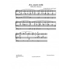 Ave Maris Stella /E Grieg/Bearb:H Agrell