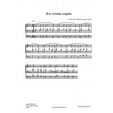 Ave verum corpus/C SS /C Saint-Saëns