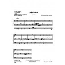 Nocturne.2. /E Taube/Bearb: Jens Claesson