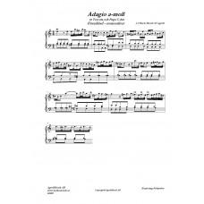 Adagio a-moll Manualiter /J.S Bach