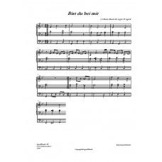 Bist Du bei mir /J. S Bach