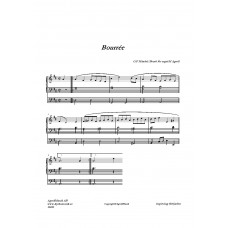 Bourrée ur /G. F Händel