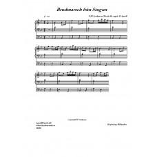 Brudmarsch från Stugun /F M Starkman/Bearb H Agrell