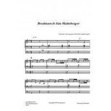 Brudmarsch från Malmberget /Trad efter Olof Lagerqvist/Bearb för orgel H Agrell