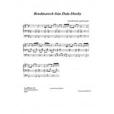 Brudmarsch från Dala-Husby /Trad/Bearb för orgel H Agrell