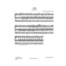 Aria (Tre giorni) /G B Pergolesi/Bearb H Agrell
