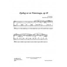 Epilog ur en Vintersaga /L-E Larsson
