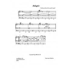 Adagio g-moll /T Albinoni