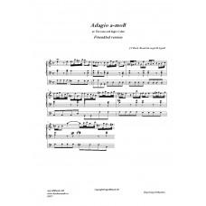 Adagio a-moll /J. S Bach