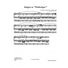 Adagio ur Pathetique /L v Beethoven