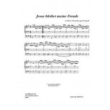 Jesus bleibet meine Freude F-dur /J.S Bach